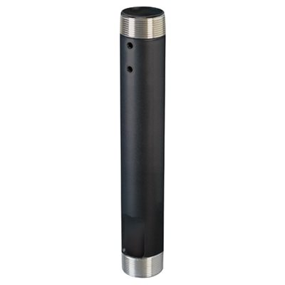 """Chief 24"""" Fixed Extension Column (black)"""