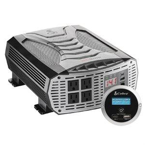 Cobra Professional Grade 3000 Watt Power Inverter (Includes Remote Controller)