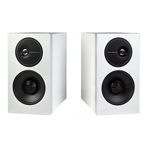 Def Tech D11 Bookshelf Speakers (white, pair)