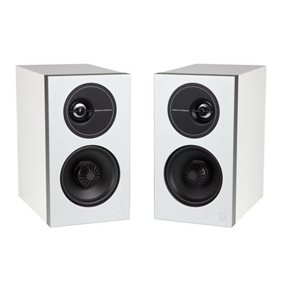 Def Tech D7 Bookshelf Speakers (white, pair)