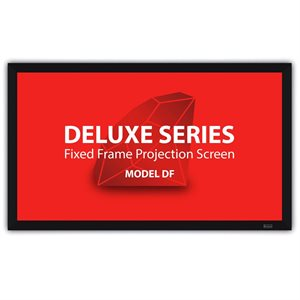"Severtson 106"" 16:9 Deluxe Fixed Frame Screen (cinema white)"