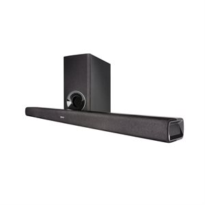 Denon 2.1 Channel Home Theater SoundBar w /  BT & wireless sub