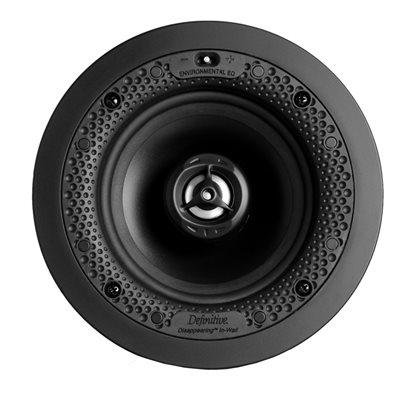 """Def Tech 5.5"""" Round In-Wall / In-Ceiling Speaker (single)"""