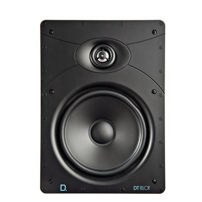 """Def Tech 8"""" Rectangular In-Wall LCR Speaker (single)"""