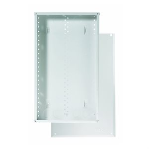 """On-Q 20"""" Metal Enclosure with Screw-On Cover"""