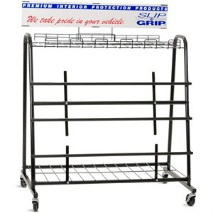Slip-N-Grip Floor Dispenser Rack