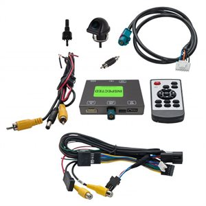 EchoMaster Mercedes Benz Factory Backup Camera and Interface