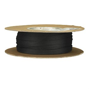 Install Bay 3 / 8in Expandable Sleeving Black - 125 Feet