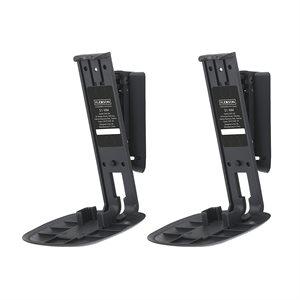 Flexson Wall Mount for Sonos One Speaker (black, pair)