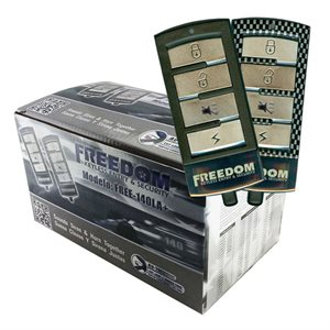 Excalibur Omega Freedom Alarm with 8 Programmable Features