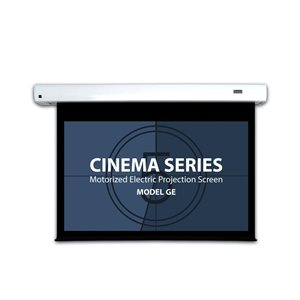 "Severtson 112"" 16:9 Cinema-Series II Motorized (matte white)"