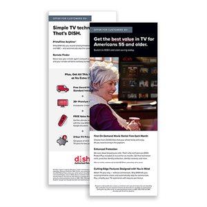 DISH 1H 2021 55+ Offer Insert, 25pk