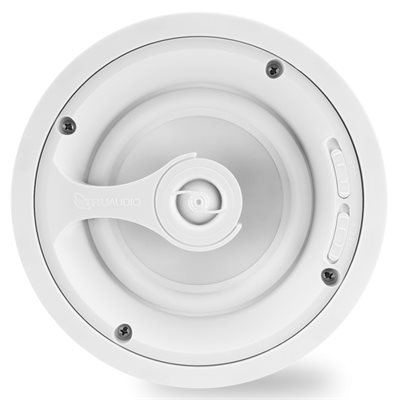 """TruAudio Ghost 6"""" Speaker with Poly Woofer (white, single)"""