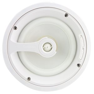 """TruAudio Ghost 8"""" Speaker with Poly Woofer (white, single)"""