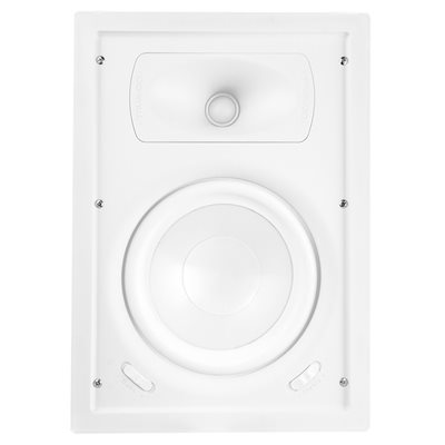 "TruAudio Ghost 6.5"" Poly in-wall Woofer Speaker (white, sing"