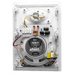 "TruAudio Ghost 8"" Poly in-wall Woofer Speaker (white, single"