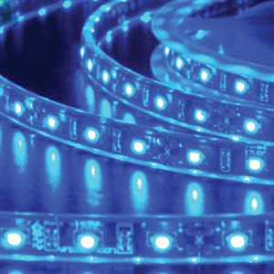 Heis 3M LED Strip Light - Blue 3528 Retail Pk