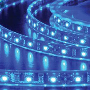 Heise 5 Meter LED Strip Light (bulk, blue)