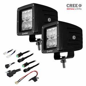 "Heise 3""x3"" 6-LED Cube Light Kit (pair)"