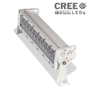 "Heise 14"" Dual Row Marine Lightbar (white)"