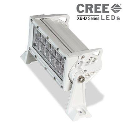 "Heise 8"" Dual Row Marine Lightbar (white)"