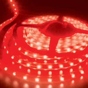 Heise 5 Meter LED Strip Light (bulk, red)