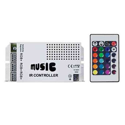 Heise RGB Sound Activated Controller for 5MRGB-1 (single)