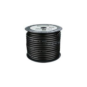 Install Bay 4 ga Power Cable 125' Spool (black)