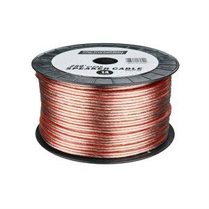 Install Bay 14 ga Speaker Wire 250' Spool (clear)