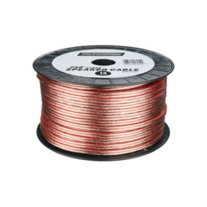 Install Bay 18 ga Speaker Wire 1,000' Spool (clear)