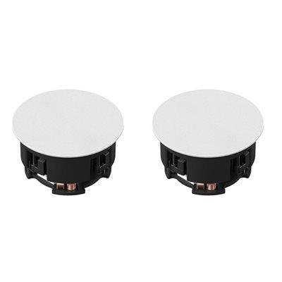 """Sonos 6.5"""" In-Ceiling speakers by Sonance (pair)"""