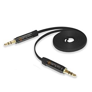 iSimple 3.5mm Audio Cable (black)