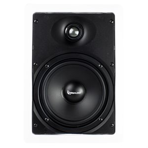 "TruAudio 2-Way 6.5"" Poly Woofer 1"" Silk Tweet Speaker (singl"