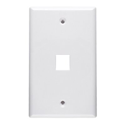 ASKA 1-Port Keystone Wall Plate