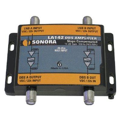 Sonora DBS 14dB Gain Dual Line Amplifier