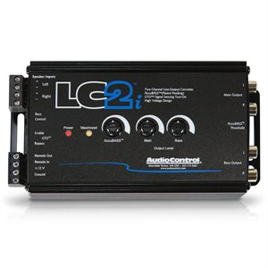 AudioControl 2 Ch Line Out Converter and Subwoofer Control