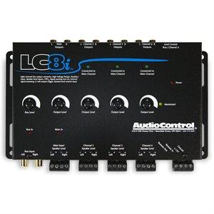 AudioControl 8 Ch Line Output Converter w / Aux Input