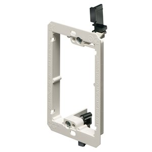 Arlington 1-Gang Low-Profile Low-Voltage Mounting Bracket