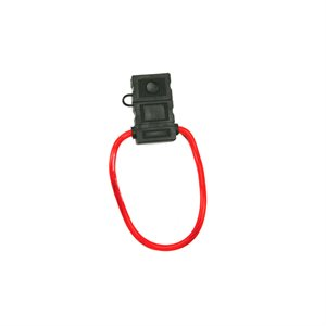 Install Bay 8 ga Maxi Fuse Holder with Cover (single)