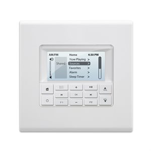 Russound C-Series 2-Gang Multi-Line Display Keypad