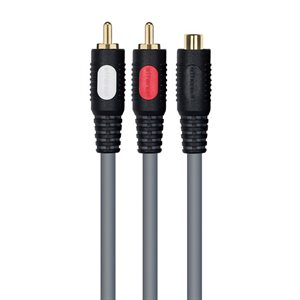 Ethereal MHX Series 1 Female / 2 Male Audio Y-Cable