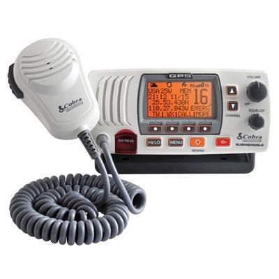 Cobra Marine VHF GPS Class D Radio (white)