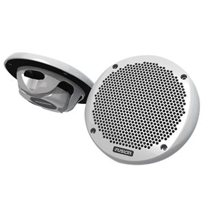 "Fusion Marine 6"" 160W Shallow Mount Speaker (white, pair)"