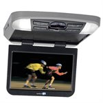 """Movies2Go 13.3"""" Hi-Res LED Overhead Video Monitor w / Built-in DVD Player & HDMI Input"""
