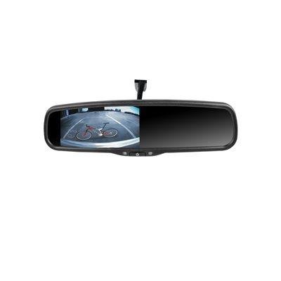"""Rydeen 4.3"""" Mirror Monitor w / Ultra High Broughtness TFT Dual Video Inputs"""