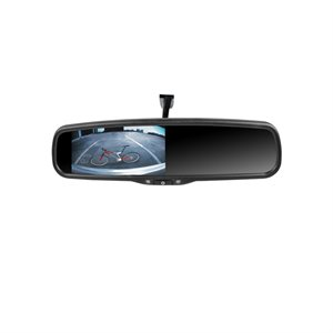 "Rydeen 4.3"" Mirror Monitor w / Ultra High Broughtness TFT Dual Video Inputs"