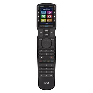 URC Hard Button Remote Control with Color LCD