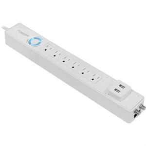 Panamax Power360 6-Outlet Floor Strip / USB Charging Station