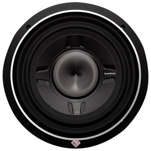 "Rockford Punch P3S 10"" 4 Ohm DVC Shallow Subwoofer (single)"