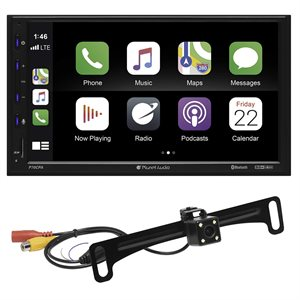 """Planet Audio 6.75"""" CarPlay / Android Auto Mechless DDIN w / Camera"""